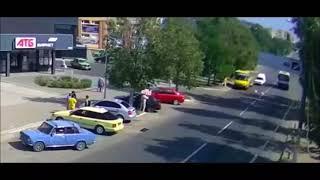 Аварии на дорогах, приколы на дороге 2018