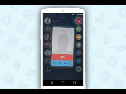Drupe Shows All Contacts And Lets You Choose Which App To Talk With