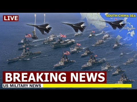 (June 23, 2019) South China Sea High Tension - US / UK / China - WW3 News Update Today