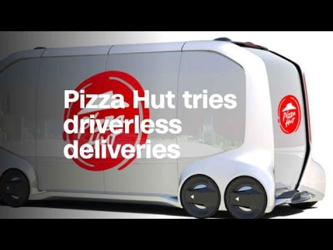 Pizza Hut is partnering with Toyota for self-driving deli...