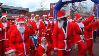 Rotary Santa Run Hellevoetsluis 2014
