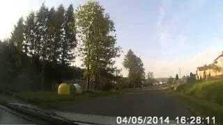 preview picture of video 'Droga wojewódzka nr 887: Rymanów - Daliowa'