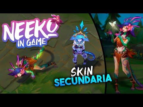 NEEKO in Game   Animaciones, Habilidades y Skin de