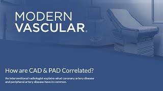 Are CAD & PAD Correlated?