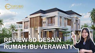 Video Desain Rumah Hook Villa Bali 2 Lantai Ibu Verawaty di  Tangerang Selatan, Banten