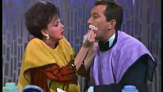 Judy Garland on Andy Williams Show - Clown Makeup Skit.