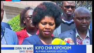 Mbunge wa Baringo Kusini-Grace Kipchoim afariki baada ya kuugua saratani ya tumbo-Dira ya Wiki
