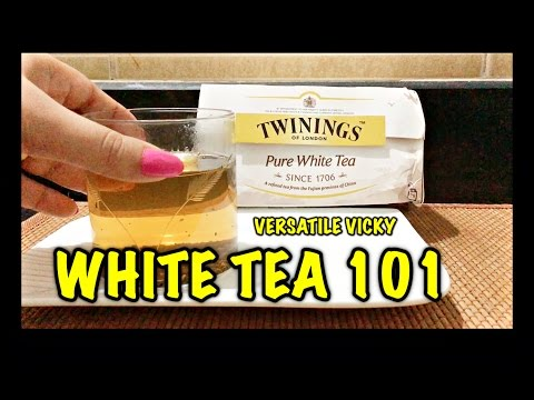 Video Weight Loss Tea Recipe | White Tea VS Green Tea | White Tea is better than Green Tea
