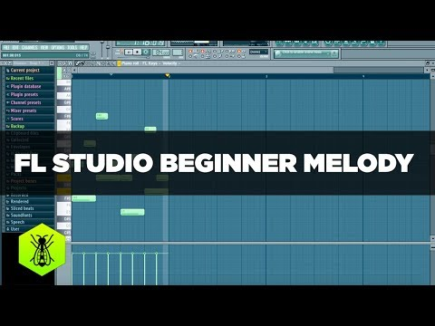 FL Studio Beginner Melody Tutorial