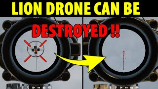 LION DRONE COULD BE DESTROYED !! - Rainbow Six Siege
