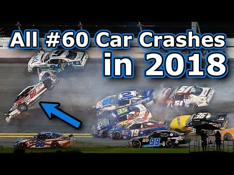 Every Time The #60 Car Crashed In 2018