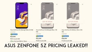 Asus ZenFone 5Z Will Be The Cheapest Flagship Device Ever!! Pricing & Specifications Leaked!!