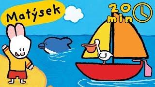 Matýsek a Jája - Nakresli mi moře | Kompilace HD