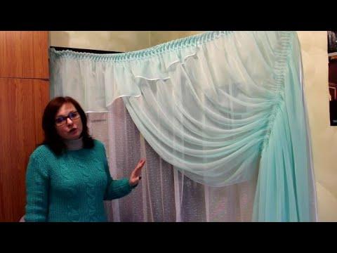 Шьем кухонную штору своими руками.Один день из жизни мастера.