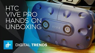 HTC Vive Pro - Hands On Unboxing - Video Youtube