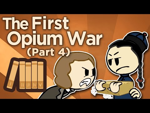 První opiová válka: Požár a kapitulace - Extra Credits