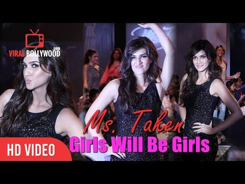 Gorgeous Kriti Sanon Walk The Ramp As Miss. Taken | Girls Will Be Girls