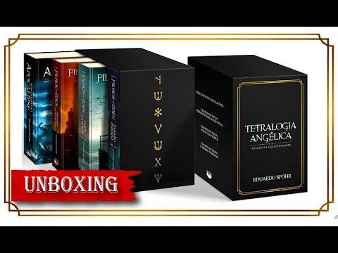 Unboxing | Box Tetralogia Angélica: Edição de Colecionador | Eduardo Spohr