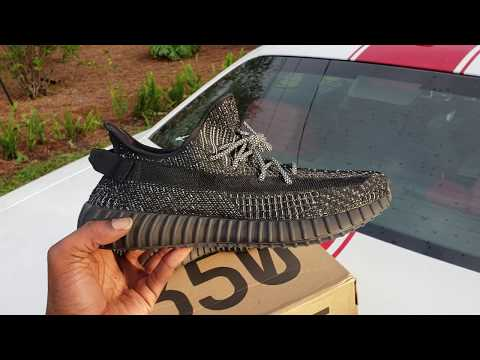 """Kanye West Don't Got These 😂 Black Static """"Sample Pair"""" Adidas Yeezy Boost 350 V2!!"""