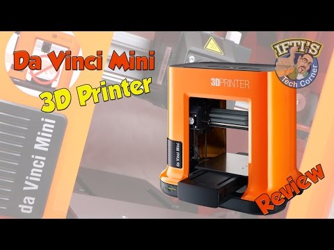 XYZ-Printing – Da Vinci Mini W : 3D Printer for Beginners! – REVIEW
