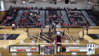 Sectional Volleyball - Manchester vs Wabash