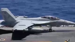 Flight Operations USS Ronald Reagan (CVN-76)