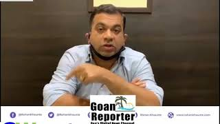 Goan Reporter News: Porvorim MLA Rohan Khaunte Comments On Online Education In Goa