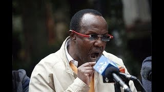 Where is David Ndii? - VIDEO