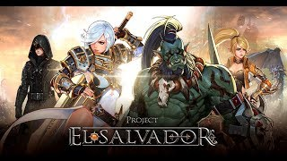 El Salvador Gameplay Android 2nd Beta Test(MMORPG)