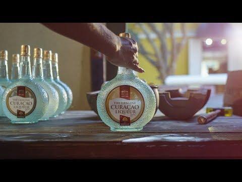 The Genuine Curaçao Liqueur from Curaçao by Senior