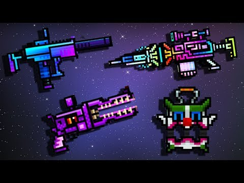 Weapons with Skins #4 - Pixel Gun 3D Gameplay