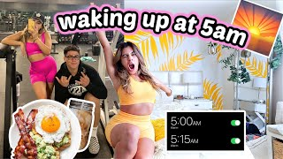 I tried waking up at 5AM everyday for a week..
