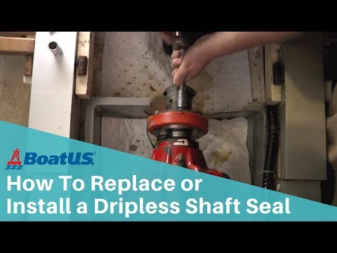 How to Replace or Install a Dripless Shaft Seal/Stuffing Box   BoatUS