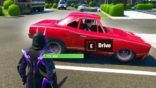 HOW TO DRIVE CARS in Fortnite Season 3