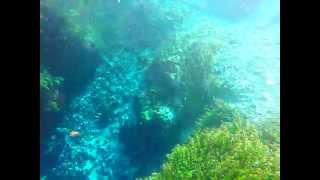 preview picture of video 'Blue Eyed Hole Underwater | Albania | GoPro Camera'