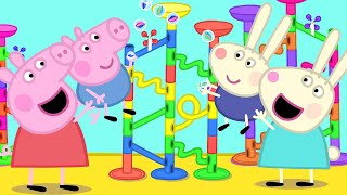 Peppa Pig Official Channel | Marble Run Challenge with Peppa Pig