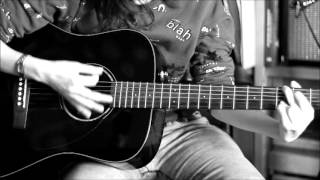 Birdy - Wings. Guitar cover, chords/acordes