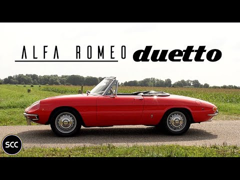 ALFA ROMEO DUETTO 1750 SPIDER VELOCE 1969 - Test Drive In Top Gear |  SCC TV