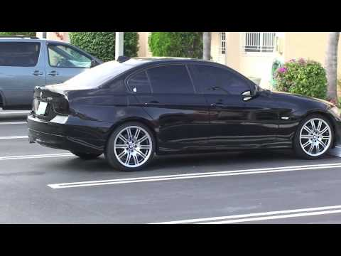 """BMW 325I 2006 WITH 19"""" OEM M3 E46 CONVERSION"""