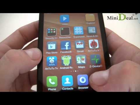 Hands on Xiaomi HongMi/RedMi 1S(WCDMA) Snapdragon msm8228 1.6GHz Reviews 1G+8G