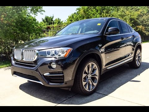 2015 BMW X4 xDrive35i X Line Exhaust, Start Up and In Depth Review