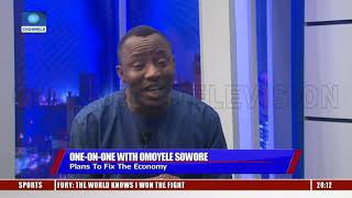 'Why I Want To Be President', Sowore Shares Plans Pt.2 |Sunday Politics|