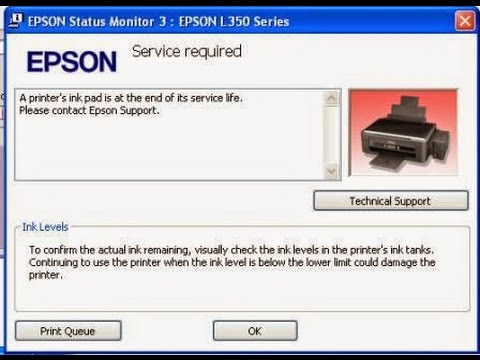 Howto Reset Waste Ink Pad Counter Epson L220 เคล ยซ บหม ก 17 12
