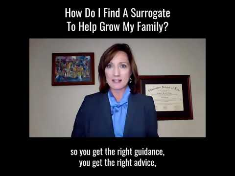 How Do You Find a Surroga…