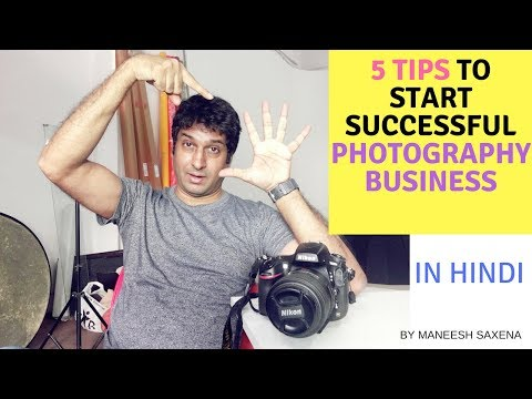 5 tips to start your own successful photography business