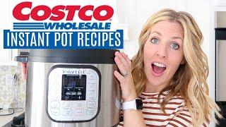 3 Instant Pot Recipes from COSTCO - Dump and Go Recipes