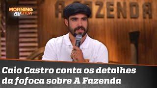 Caio Castro vai apresentar 'A Fazenda'? O Wikipédia diz que sim, ele diz que não