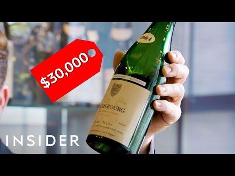 Getting Drunk at Billionaire Wine Tastings