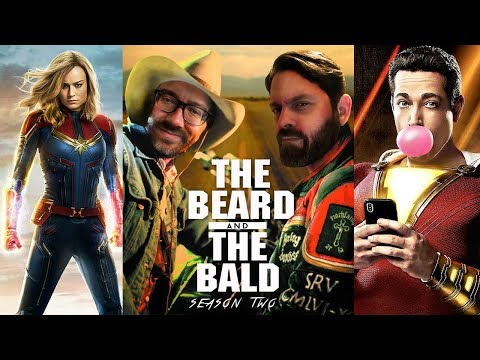 The Beard & The Bald - Shazam! reaction, Leaving Neverland, Captain Marvel review & more!