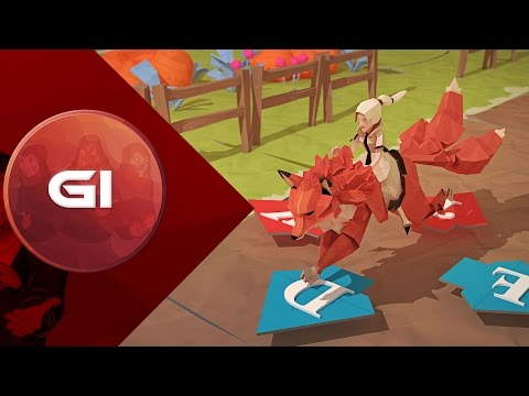 Gameplay de Epistory - Typing Chronicles